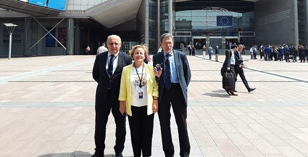Pirmą kartą Briuselyje su Andriumi ir Rasa