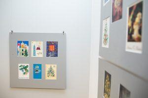 Kalėdinių ir Naujametinių atvirukų parodos atidarymas