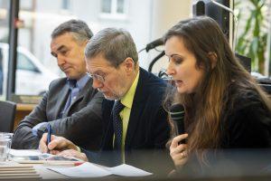"""Diskusija """"Ar Europai pavyks atsinaujinti"""" VDU. J. Petronio nuotr."""
