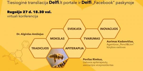 EP nario L. Mažylio organizuojamoje konferencijoje – bitininkystės, apiterapijos ir tvarumo temos