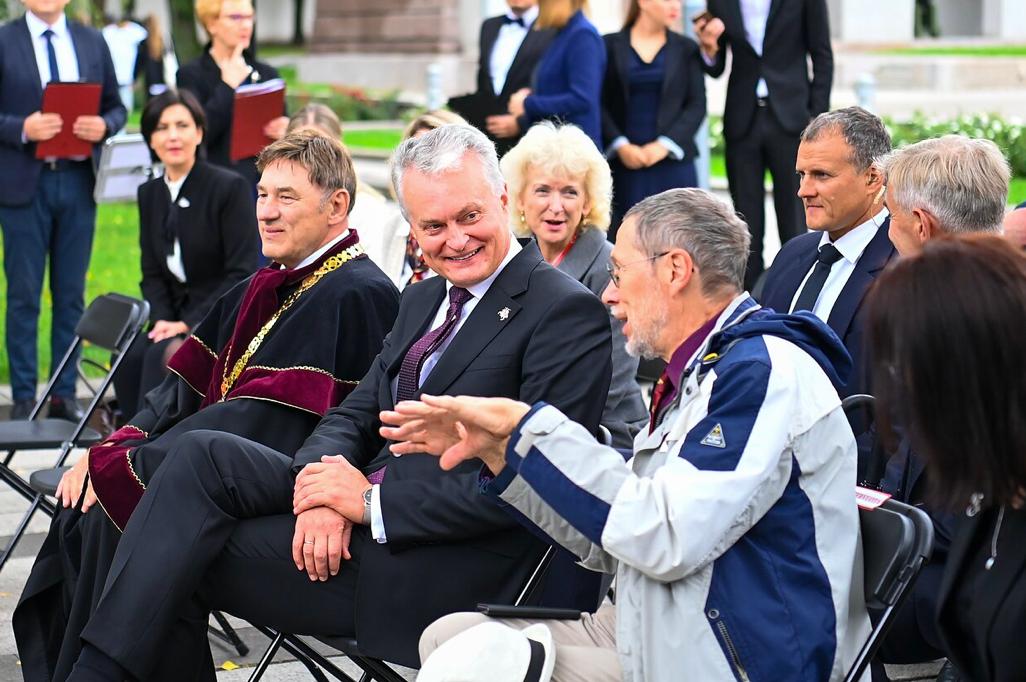 LR Prezidentūros kanceliarijos nuotrauka.